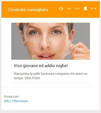 Affiliate marketing: schermata Worldfilia