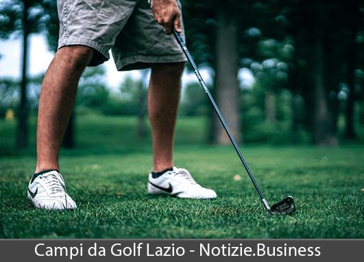 campi golf lazio