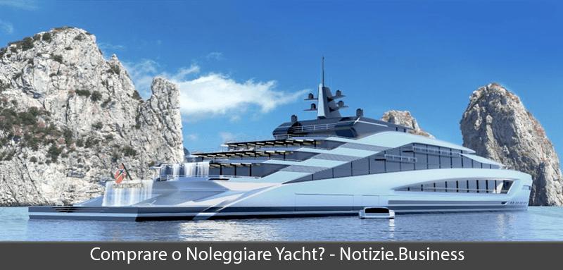 comprare o noleggiare yacht