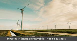 investire in energie rinnovabili