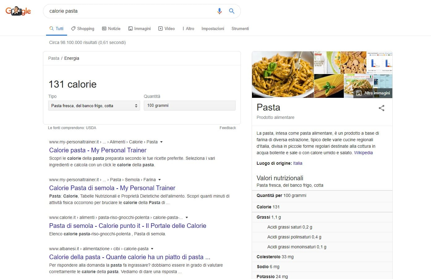 Posizionamento su Google: Opportunity Keyword