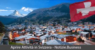 aprire attività in svizzera