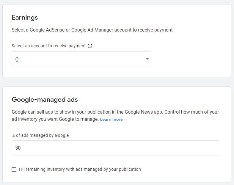 Google News Ads