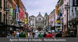 aprire attività in irlanda