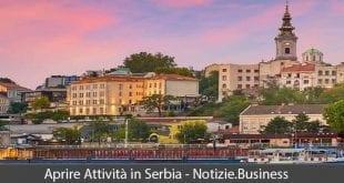aprire attività in serbia