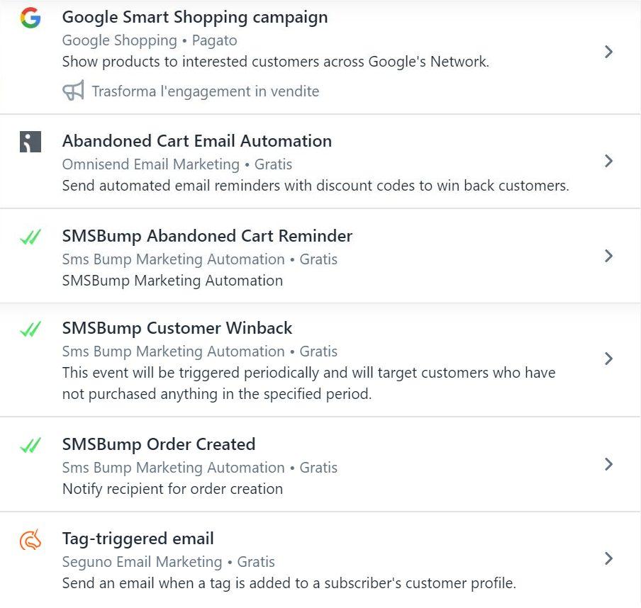 marketing automation shopify