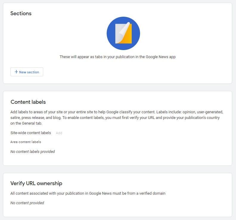 Google News Content