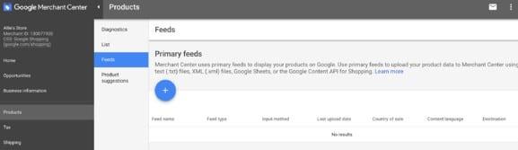 Feed Google