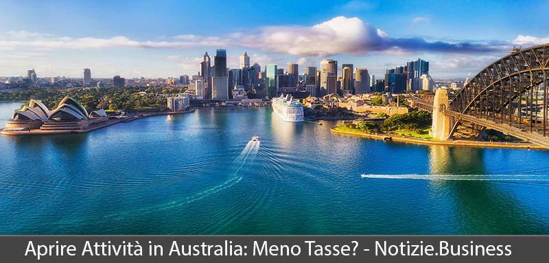 aprire attività in australia