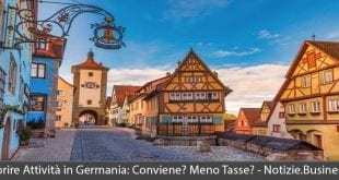 aprire attività in germania