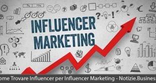 come trovare influencer