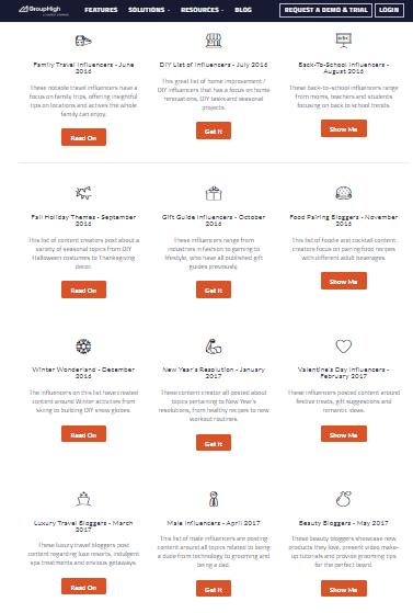 influencer migliori siti