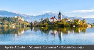aprire attività slovenia