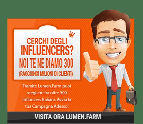 trovare influencer