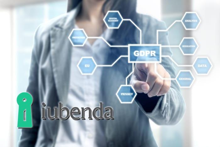 Iubenda è uno strumento che si propone di aiutare i siti web a raccogliere il consenso all'utilizzo dei dati personali