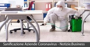 sanificazione aziende coronavirus