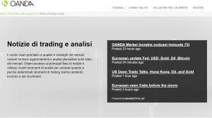 strumenti e piattaforme di oanda