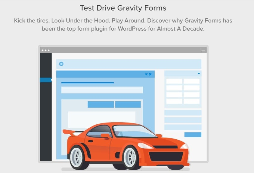 test drive gravity