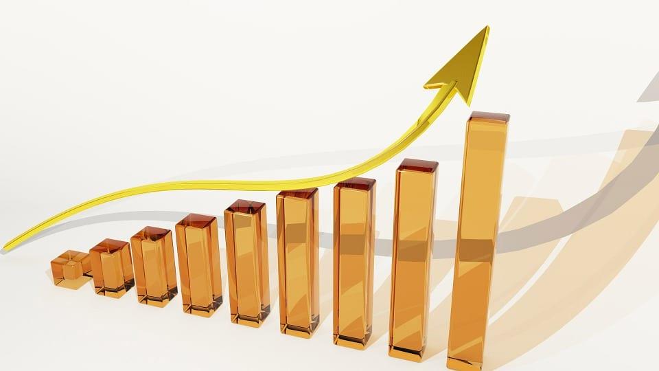 forte crescita prezzi