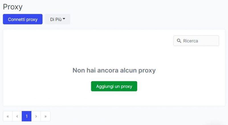La configurazione del proxy è un altro passo fondamentale per il funzionamento del proprio bot