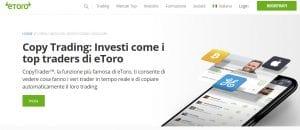 mirror trading con eToro