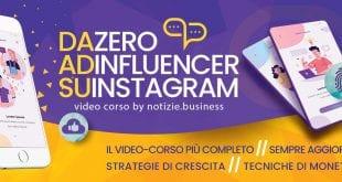 da zero ad influencer su instagram