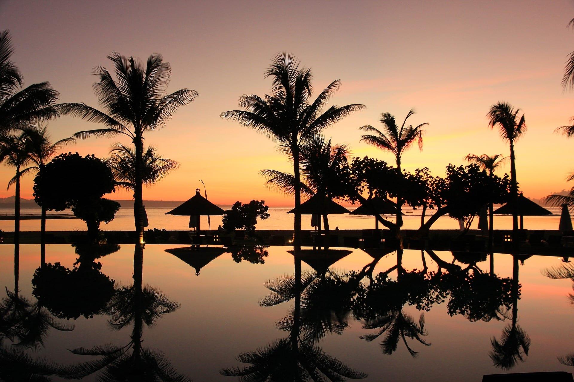 Bali spiaggia