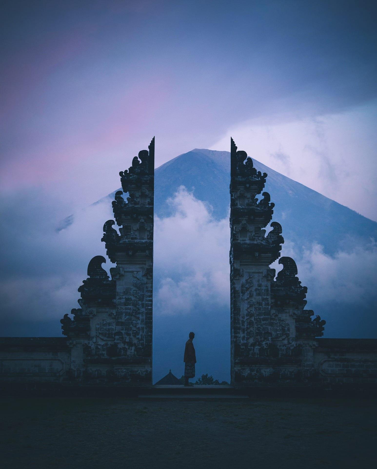 Edificio tipico Bali