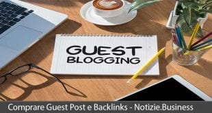 comprare guest post e backlinks