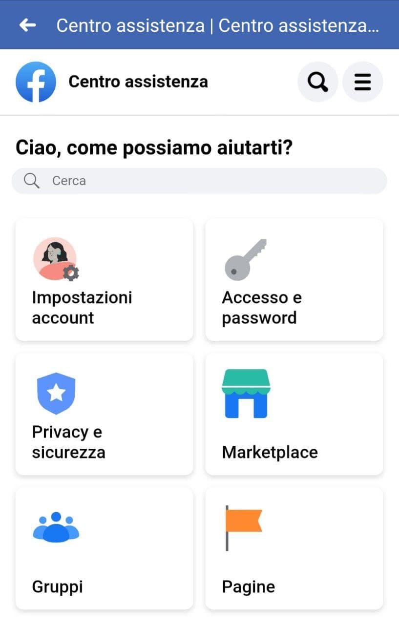 Spunta blu su Facebook step 3