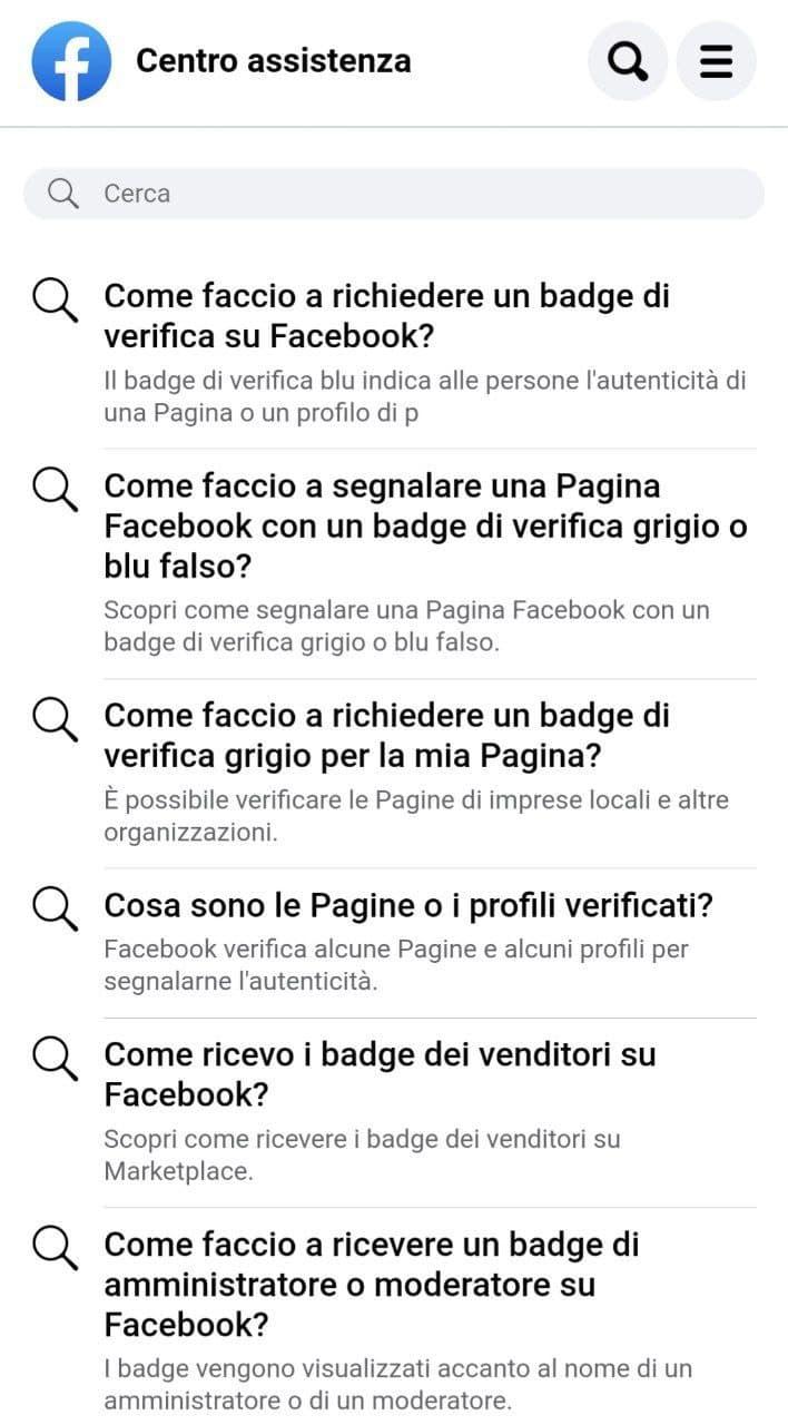 Spunta blu su Facebook step 5
