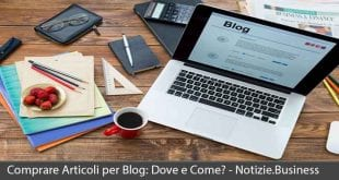 comprare articoli per blog