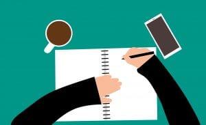 il copywriter scrive articoli per blog