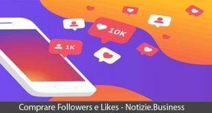 comprare followers e likes