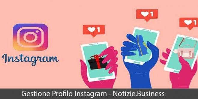 gestione profilo instagram