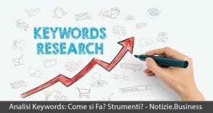 analisi keywords