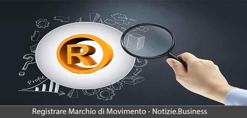 registrazione marchio di movimento