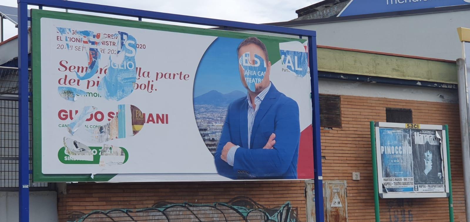 Cartellonistica pubblicitaria e atti vandalici