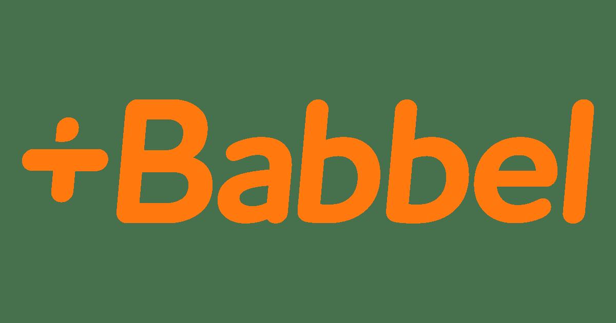 Logo di Babbel