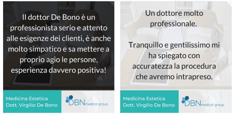 recensioni lifting chirurgico roma de bono
