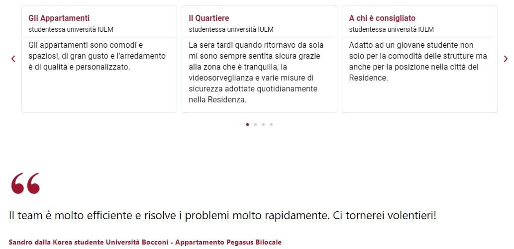 recensioni residence chiaralba