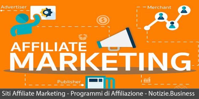 siti affiliate marketing programmi di affiliazione