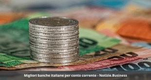 Migliori banche italiane per conto corrente